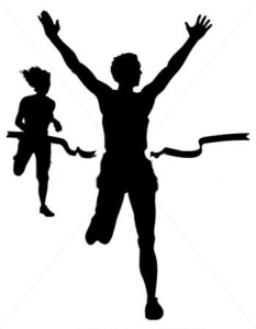 vector-athletics-silhouette-at-the-finish-line_14552344